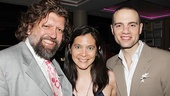 Hair Opening Night 2011- Oskar Eustis – Diane Paulus – Jordan Roth