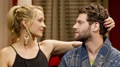 Anna Camp as Kim and Justin Bartha as Charlie in All New People.