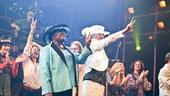 Same-Sex Weddings at St. James Theatre – Terri White – Donna Barnett (peace sign)
