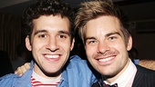 Opening night of &lt;i&gt;Rent&lt;/i&gt; - Adam Chanler-Berat  Matt Shingledecker 