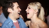 Opening night of &lt;i&gt;Rent&lt;/i&gt; - Adam Chanler-Berat  Annaleigh Ashford 