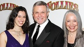 <i>Follies</i> opening night – Ron Raines and family