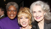 &lt;i&gt;Follies&lt;/i&gt; opening night  Terri White  Elaine Paige  Mary Beth Peil