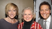 &lt;i&gt;Follies&lt;/i&gt; opening night  Edie Falco  Barbara Cook  Michael Feinstein 