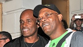 Director Kenny Leon and Samuel L. Jackson are thrilled to have such a warm reception after their first preview. 