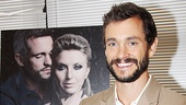 Hugh Dancy is delighted to be back on Broadway in David Ives provocative new play.