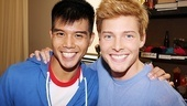 Godspell meet - Telly Leung - Hunter Parrish