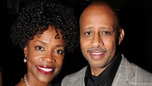 George C. Wolfe Gets Mr. Abbott Award  Charlayne Woodard  Ruben Santiago-Hudson