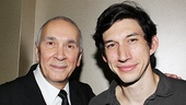 As on stage father and son, Frank Langella and Adam Driver make one hell of a man and boy.  See them in action at the American Airlines Theatre!