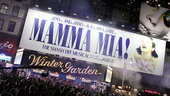 Mamma Mia Tenth Anniversary  marquee
