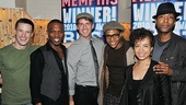 Memphis Second Broadway Anniversary  Cary Tedder  Tyrone Jackson  Bryan Langlitz  Ephraim Sykes  Sydney Morton  Jermaine R. Rembert