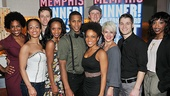 Memphis Second Broadway Anniversary  ensemble
