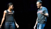 Adam Pascal takes the stage at the Shubert Theatre alongside Memphis leading lady Montego Glover to give a preview of his performance as Huey Calhoun.