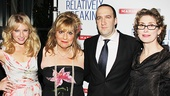 &lt;i&gt;Relatively Speaking&lt;/i&gt; Opening Night -  Ari Graynor  Caroline Aaron  Danny Hoch  Katherine Borowitz