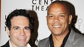 Other Desert Cities Broadway Opening Night  Mario Cantone  Jerry Dixon