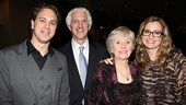 Other Desert Cities Broadway Opening Night  Thomas Sadoski  parents  wife Kim Hope