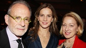 Speaking of Brothers & Sisters, here's a reunion shot of Ron Rifkin, Rachel Griffiths and Patricia Wettig.