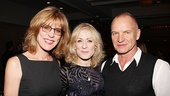 Other Desert Cities Broadway Opening Night  Christine Lahti  Judith Light  Sting