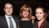 Other Desert Cities Broadway Opening Night  Jon Robin Baitz  Christine Lahti  daughter