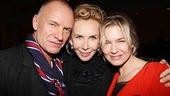 Other Desert Cities Broadway Opening Night  Sting  Trudie Styler  Renee Zellweger