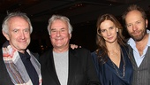 Other Desert Cities Broadway Opening Night  Jonathan Pryce  Richard Eyre  Rachel Grifffiths  Andrew Taylor