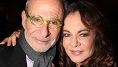Ron Rifkin gets cheek to cheek with Stockard Channing. 