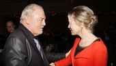 Stacy Keach enjoys a meet-and-greet moment with Renee Zellweger.