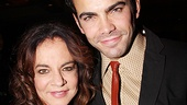Stockard Channing reunites with her Pal Joey lover (and Other Desert Cities understudy) Matthew Risch.
