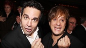 Other Desert Cities Broadway Opening Night  Mario Cantone  Tommy Femia