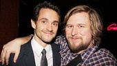Venus in Fur Broadway Opening Night  Hugh Dancy  Michael Chernus