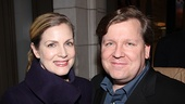 Venus in Fur Broadway Opening Night  David Lindsay-Abaire  wife Christine