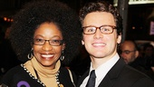 Venus in Fur Broadway Opening Night  Adriane Lenox  Jonathan Groff