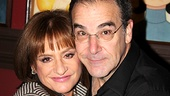 How sweet is this? Patti LuPone and Mandy Patinkin show off a friendship that goes back to 1979, when they co-starred in Evita. 