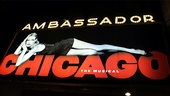 Chicago 15th Broadway Anniversary  marquee