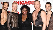 Chicago 15th Broadway Anniversary  Carol Woods  Adam Zotovich  Ryan Worsing  Jason Patrick Sands  Michael Cusumano