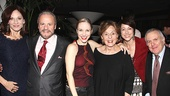 Chicago 15th Broadway Anniversary  Marilu Henner  Barry Weissler  Charlotte dAmboise  Fran Weissler  Paige Davis  John Kander