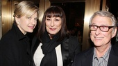 Seminar Opening Night  Diane Sawyer  Anjelica Huston  Mike Nichols