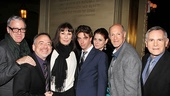 Seminar Opening Night  Scott Wittman  Marc Shaiman  Anjelica Huston  Christian Borle  Debra Messing  Neil Meron  Craig Zadan