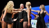 Look at Mandy Patinkin's face! On his 59th birthday, the Broadway star is surrounded by dancing girls.