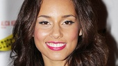Grammy winner Alicia Keys is soaking in her first opening night as a Broadway producer and composer. 