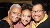 &lt;i&gt;Stick Fly&lt;/i&gt; Opening Night  Tracie Thoms and parents