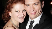 Adorable co-stars Kerry O'Malley and Harry Connick Jr. go cheek to cheek for a photo.