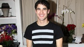 Darren Criss shows off his new home at the Al Hirschfeld Theatre.