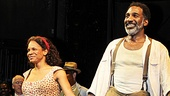 Audiences leap to their feet to honor Porgy and Bess headliners Audra McDonald and Norm Lewis 