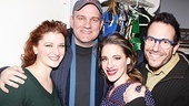 The O'Malleys hang out backstage with On a Clear Day star Jessie Mueller and director Michael Mayer.