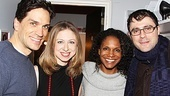 Porgy and Bess- Will Swenson, Audra McDonald, Chelsea Clinton, and Marc Mezvinsky 