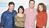 Rated P For Parenthood  Press Meet and Greet  David Josefsberg  Joanna Young  Chris Hoch  Courtney Balan