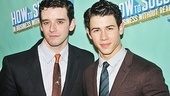Michael Urie and Nick Jonas are delighted to arrive on Broadway together.