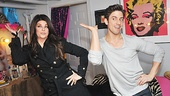 Kirstie Alley's got the disco moves down pat! (Marilyn Monroe seems to approve.)