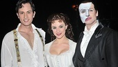 This trio has a long history with Phantom—Barisich and Moldovan got their start on tour, while Panaro originally played Raoul on Broadway.